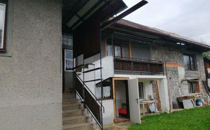 Na predaj 4. izbový rodinný dom s rovinatým pozemkom Polomka ( okr.Brezno).