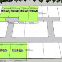Pre rodinné domy, Lehnice, 600 m²