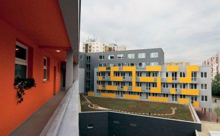 PRENÁJOM zariadený 1-izbový byt, Gercenová, Bratislava-Petržalka EXPISREAL