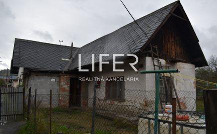 Na predaj dom v pôvodnom stave v obci Hliník nad Váhom