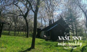 Ponúkame Vám záhradu s chatkou v Bohuniciach s krásnym výhľadom