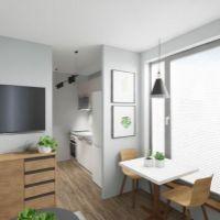 2 izbový byt, Poprad, 29 m², Novostavba