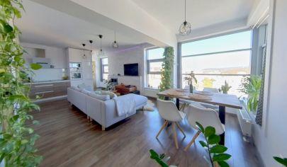 REZERVOVANÉ  – Moderný 2 izbový byt s výhľadom na mesto, garážovým státím – Majerníková ul.– Karlova Ves _ BA IV