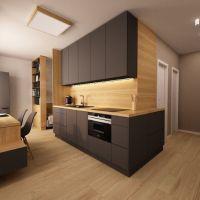 1 izbový byt, Kunerad, 34 m², Vo výstavbe