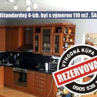 4 izbový byt, Šahy, 110 m², Kompletná rekonštrukcia