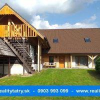 Rodinný dom, Telgárt, 304 m², Čiastočná rekonštrukcia