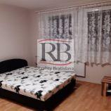 Na prenájom 1 izbový byt na Bohrovej ulici v Petržalke, BAV