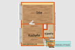 1 izbový byt - Prievidza - Fotografia 9