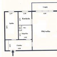 Dvojgarsónka, Bratislava-Petržalka, 53 m², Pôvodný stav