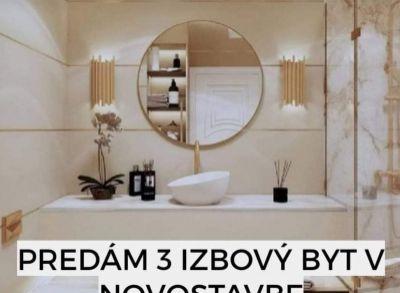 Predaj 3i bytu v novostavbe v holobytu v Trenčíne