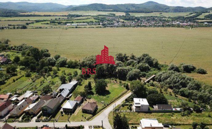 Drienov na predaj pozemok vhodný pre výstavbu rodinného domu