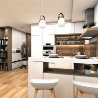 2 izbový byt, Zvolen, 52.30 m², Novostavba
