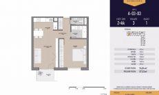 PREDAJ, 2-izbový byt, novostavba, Mlynská Bašta, Košice