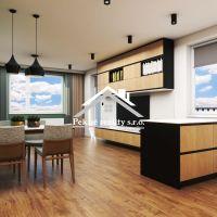3 izbový byt, Zvolen, 71.92 m², Novostavba