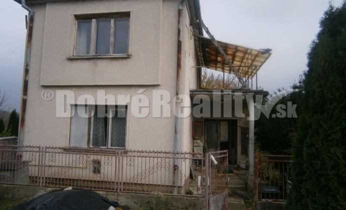 TOP: Predám rodinný dom v obci Dubník - výhodný predaj!!!