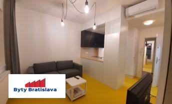 Bez provízie! RK Byty Bratislava, prenajmeme 2-izb. priestor, úplná rekonštrukcia, BA III.