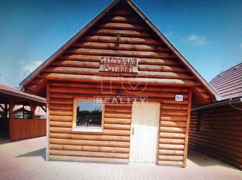 Obchodný objekt-Predaj-Veľký Krtíš-20000.00 €