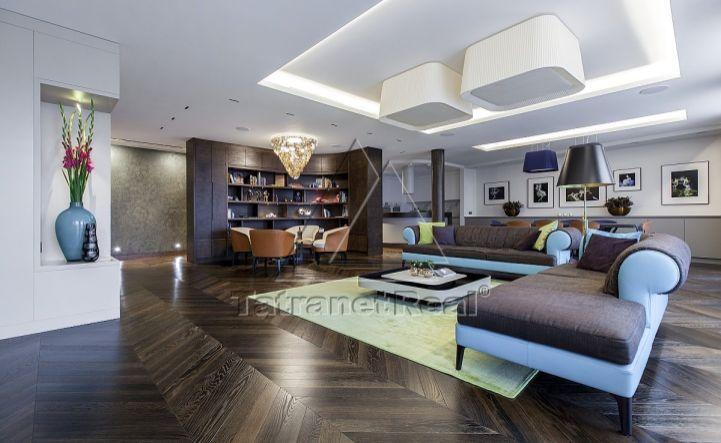 Príležitosť vlastniť excelentný, 232 m2 zariadený apartmán v Bratislave, prestížna Zámocká ulica, pod dominantou Bratislavského hradu