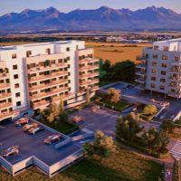 1 izbový byt, Poprad, 32.92 m², Novostavba