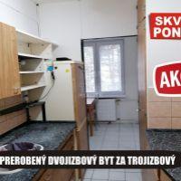 3 izbový byt, Šahy, 62 m², Čiastočná rekonštrukcia