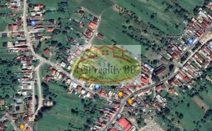 ZĽAVA !!! - Rodinný dom s pozemkom 1 160 m2, 3 km od B. Bystrice – cena  159 900€