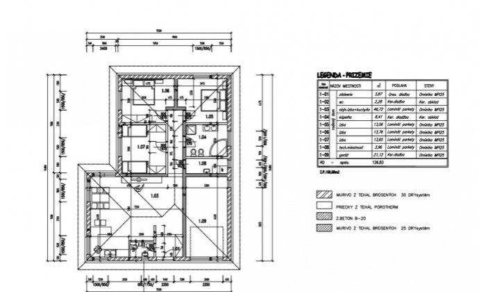 4-izbový rodinný dom s garážou vo Veľkých Uľanoch