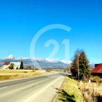 Pre rodinné domy, Važec, 1074 m²