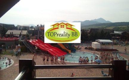 Predaj  apartmánu s kuchynkou o celkovej výmere 31,28 m2 v aqua-parku Bešeňová - cena 122 000€