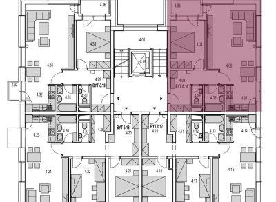 Max16: Na predaj 2 izbový byt v novostavbe Byty MAXIM - Martin - Podháj,