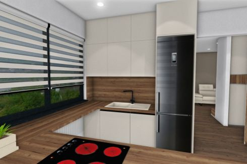 2-izbový byt v novostavbe priamo v centre mesta