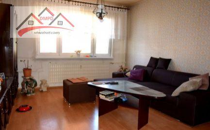 REZERVOVANÝ!!! DMPD real Vám ponúka na predaj 3-izbový byt nachádzajúci sa na sídlisku Zapotôčky.