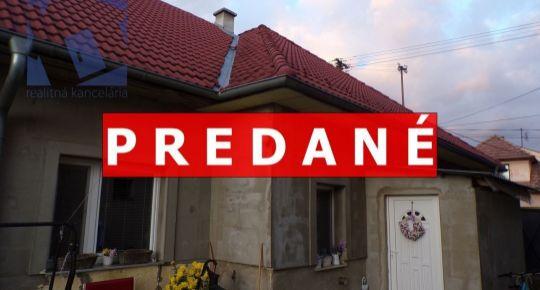 PREDANÉ Na predaj rodinný dom 334 m2 Nitrianske Pravno 70162