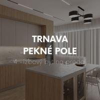 4 izbový byt, Trnava, 96 m², Novostavba