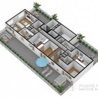 5 a viac izbový byt, Poprad, 122 m², Novostavba