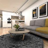 2 izbový byt, Zvolen, 65.71 m², Novostavba
