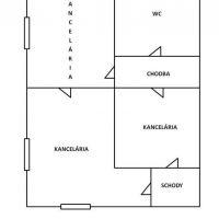 Kancelárie, Zvolen, 74.47 m², Pôvodný stav