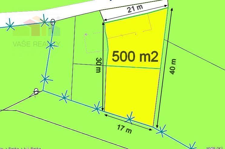 Pozemok pre RD-Predaj-Banka-22000.00 €