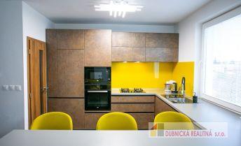 Na predaj výnimočný a dizajnový 3 izbový byt  v Beluši.
