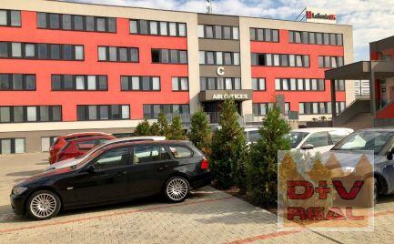 Kancelárie na predaj 64,2 - 368m2, pri letisku a dialničnom obchvate, parkovanie, aj na investíciu