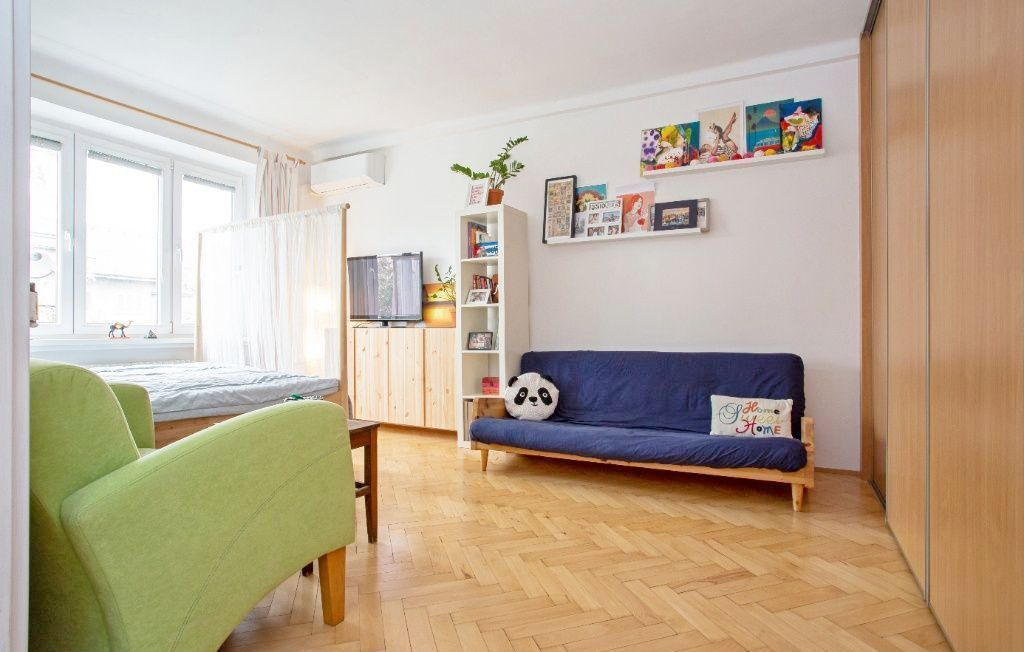 1-izbový byt-Prenájom-Bratislava - mestská časť Nové Mesto-400.00 €