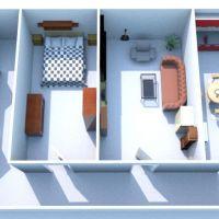 2 izbový byt, Banská Bystrica, 64 m², Čiastočná rekonštrukcia