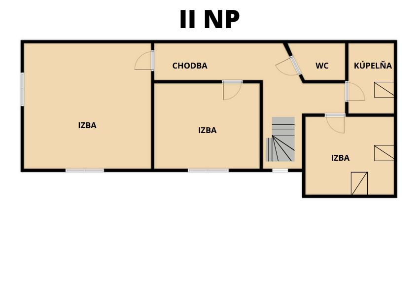 PREDANÉ rodinný dom Poprad - Veľká, pozemok 1061 m2 - 8