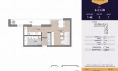 PREDAJ, 1-izbový byt, novostavba, Mlynská Bašta, Košice