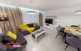 Na predaj  2 izb. byt prerobený na 3 izb. v TN, ul. Zlatovská s vlastným vykurovaním.