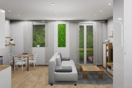 Na predaj 1 izbový byt Pod6F, v novom projekte