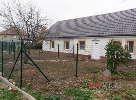 Rezervovane - Dom Horné Chlebany II.  -2 izby-záhradka-parkovanie