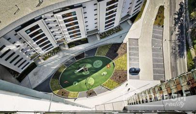Prenájom, dvojizbový byt s terasou Eurohome Bôrik