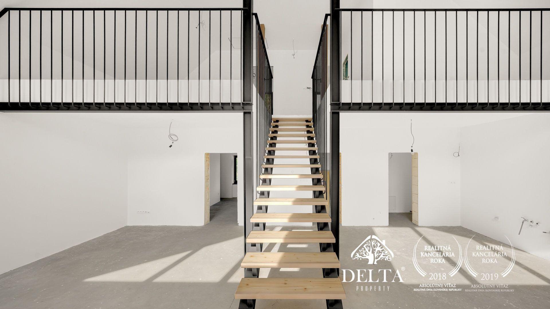 DELTA | Dizajnový 5 izbový RD, Šenkvice, 841m2