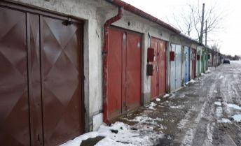 Garáž na ul. Odborárov - stredná zóna