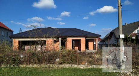 Novostavba rodinného domu Slovenské Nové Mesto , okr. Trebišov (163/20)